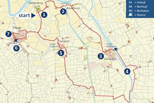 Voor de routebeschrijving + kaart zie de link onderaan dit stukje