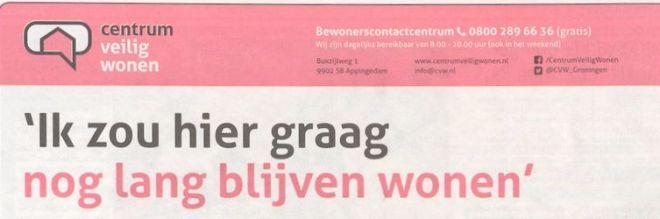 scan CVW advertentie