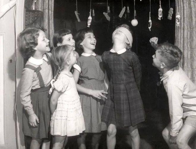 kinderfeestje jaren 50