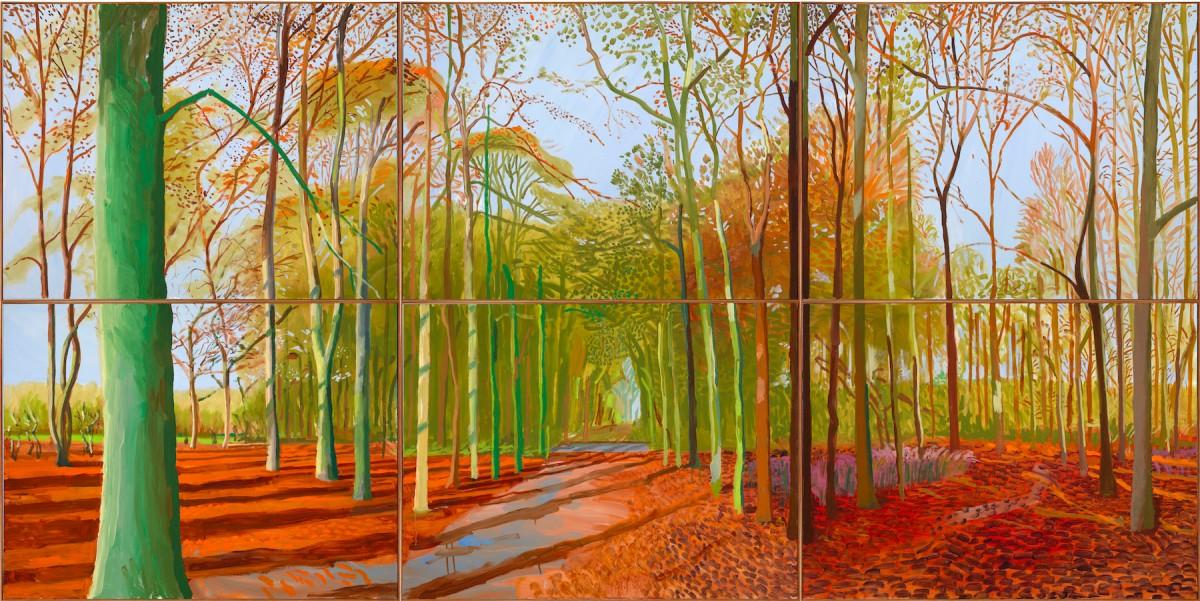 David Hockney inAmsterdam